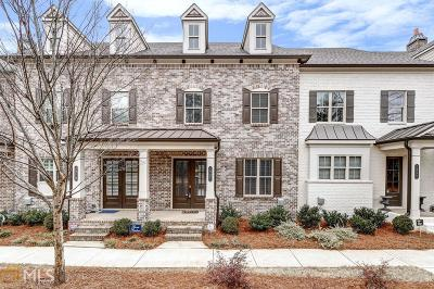 Alpharetta Condo/Townhouse For Sale: 1982 Forte Ln