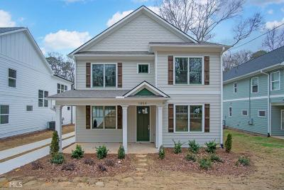 Atlanta Single Family Home New: 1854 Braeburn Cir