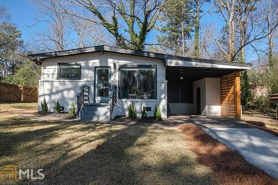 Decatur Single Family Home New: 2846 Monterey Dr