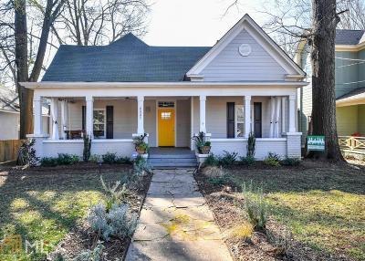 Fulton County Single Family Home New: 806 Dill Ave