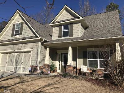 Buford Single Family Home New: 4123 Creekrun Circle