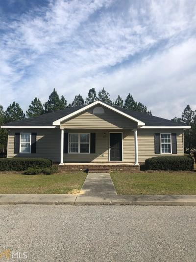 Statesboro Single Family Home New: 2100 Gabbie's Run #Lot 33