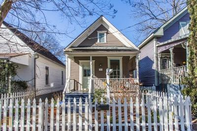 Atlanta Single Family Home New: 211 Estoria St