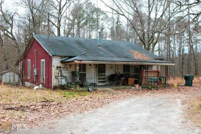 Newnan Single Family Home Under Contract: 536 Doc Perry Rd