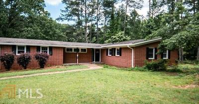 Newnan Single Family Home New: 1224 Smokey Rd