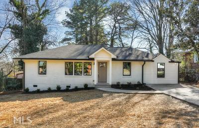 Decatur Single Family Home New: 2825 Long Way