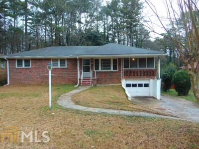 Clayton County Single Family Home New: 1116 Rock Cut Rd