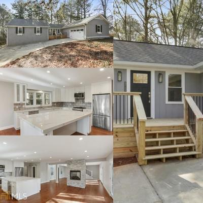 Kennesaw Single Family Home New: 3715 Bozeman Lake Rd