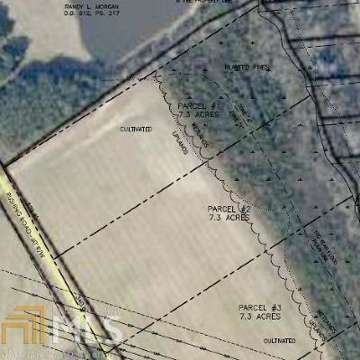 Statesboro Residential Lots & Land For Sale: Rushing Rd #Parcel 1