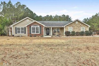 Newnan Single Family Home Under Contract: 468 Tom Witcher Rd