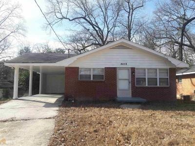 Clayton County Single Family Home New: 4639 City View Dr