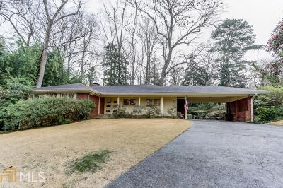 Brookhaven Single Family Home For Sale: 973 Wendover Dr