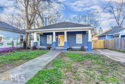 Atlanta Single Family Home New: 964 Mayson Turner Road