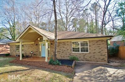 Decatur Single Family Home New: 2770 Glenvalley Drive