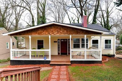 Atlanta Single Family Home New: 1645 Alvarado Terrace SW
