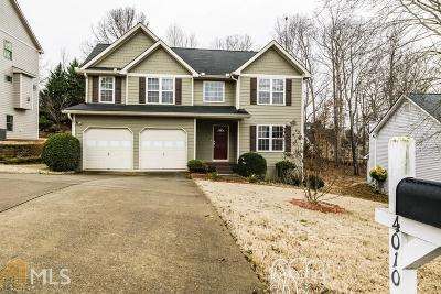 Suwanee Single Family Home New: 4010 Riversong Drive