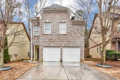 Lilburn Single Family Home Under Contract: 3813 Lakeside Walk Dr