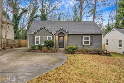 Decatur Single Family Home New: 2457 Hillside Avenue