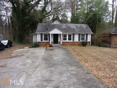 Atlanta Single Family Home New: 351 Fairburn Rd