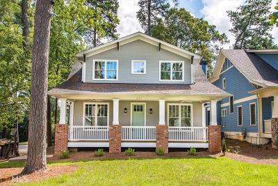 Decatur Single Family Home Under Contract: 527 Sycamore Dr