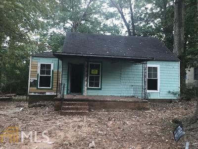 Atlanta Single Family Home New: 1122 Oak Knoll Terrace SE