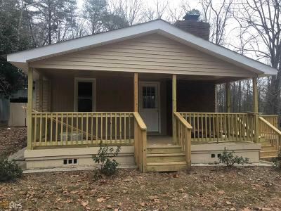 Hall County Single Family Home New: 3814 Trotter Rd