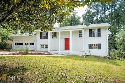 Single Family Home New: 500 Concord Woods Drive SE