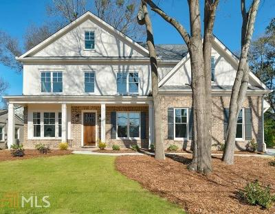 Brookhaven Single Family Home New: 2500 Drew Valley Rd