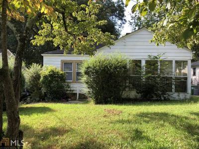 Atlanta Single Family Home New: 1368 Eason St