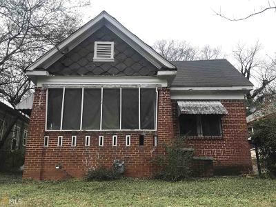 Atlanta Single Family Home New: 1405 Athens Avenue SW