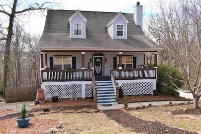 Hall County Single Family Home New: 3518 Point Vw