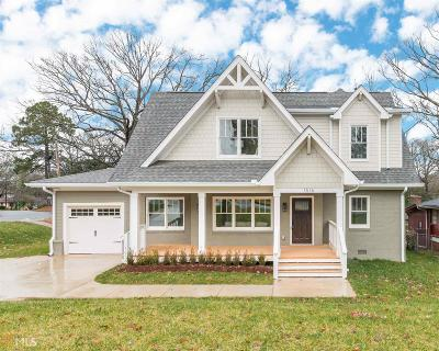 Atlanta Single Family Home New: 1516 Van Vleck Avenue