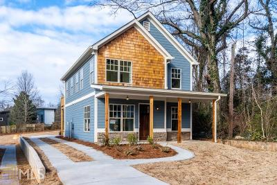 Atlanta Single Family Home New: 1419 Bouldercrest Drive SE