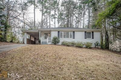 Decatur Single Family Home Under Contract: 2277 Vistamont Dr