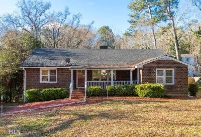 Atlanta Single Family Home New: 1761 Brewer Blvd