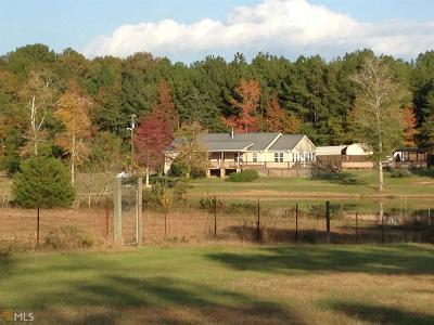 Butts County Single Family Home New: 169 Ridgeway Rd