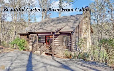 Ellijay Single Family Home Under Contract: 70 River Oaks Ter