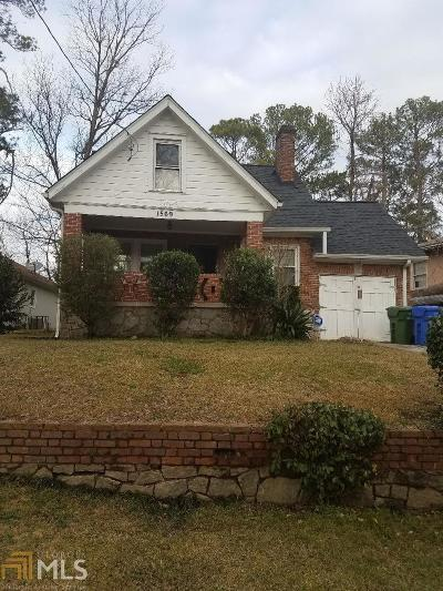 Atlanta Single Family Home New: 1569 Ezra Church Drive