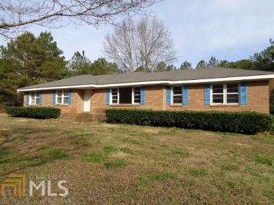 Butts County Single Family Home New: 444 Wolf Creek Rd