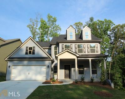 Acworth Single Family Home New: 838 Tramore Rd