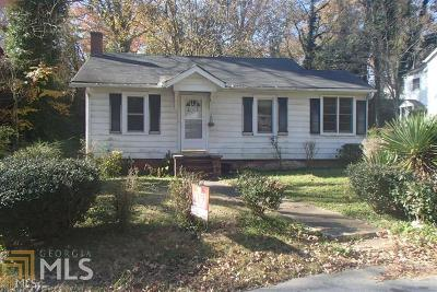 Atlanta Single Family Home New: 1130 Lookout Ave