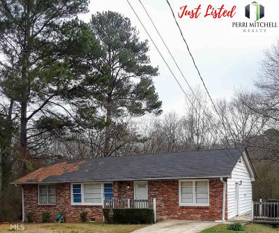 Clayton County Single Family Home New: 6110 Park Court
