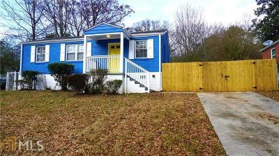Atlanta Single Family Home New: 2599 Godfrey Dr