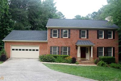 Marietta Single Family Home New: 1515 Brookcliff
