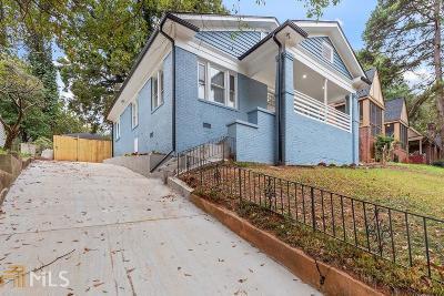 Atlanta Single Family Home New: 954 Byron Dr