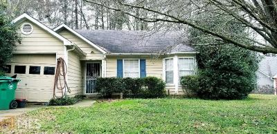 Decatur Single Family Home New: 3547 Broad Oak Ct