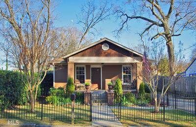 Atlanta Single Family Home New: 743 Rice