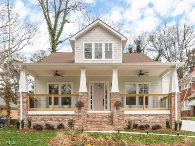 Atlanta Single Family Home New: 1769 S Gordon