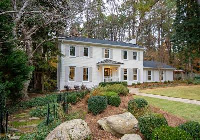 Atlanta Single Family Home New: 2848 Wood Land Park