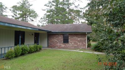 Kingsland GA Single Family Home New: $111,500